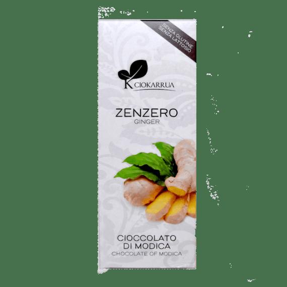 Torrefazione Caffè Chicco D'Oro | Tavoletta Cioccolato Di Modica - Zenzero - Ciokarrua