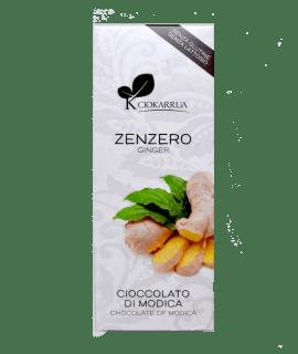 Torrefazione Caffè Chicco D'Oro | Tavoletta Cioccolato Di Modica – Zenzero – Ciokarrua