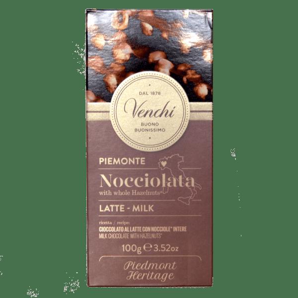Torrefazione Caffè Chicco D'Oro | Tavoletta Cioccolato Al Latte Nocciolata - Venchi
