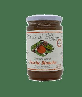 Confettura Extra Di Pesche Bianche Cà De La Pasina - Torrefazione Caffè Chicco D'Oro