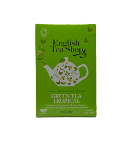 Tè Green Tropical English Tea Shop - Torrefazione Caffè Chicco D'Oro