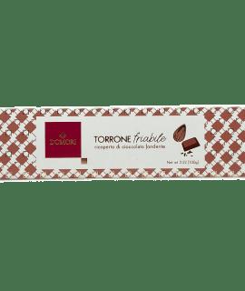 Torrone Friabile Ricoperto Di Cioccolato Fondente Domori - Torrefazione Caffè Chicco D'Oro