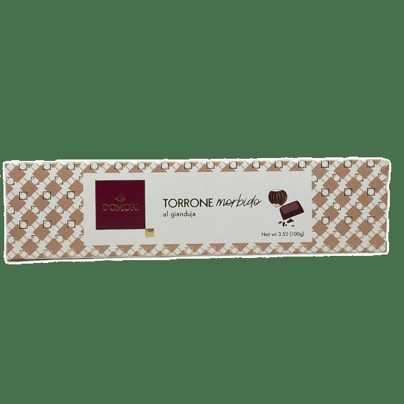 Torrone Morbido Al Gianduia Domori - Torrefazione Caffè Chicco D'Oro