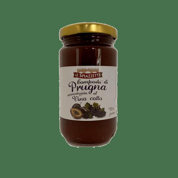 Composta Prugna aromatizzata al Vino Cotto Le Spiazzette - Torrefazione Caffè Chicco D'Oro
