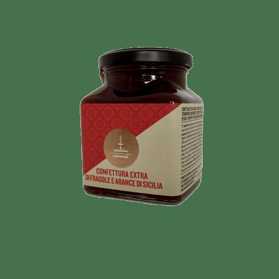 Confettura Extra Fragole e Arance di Sicilia Fiasconaro - Torrefazione Caffè Chicco D'Oro