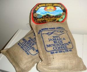 Samples Jamaica Blue Mountain Coffee
