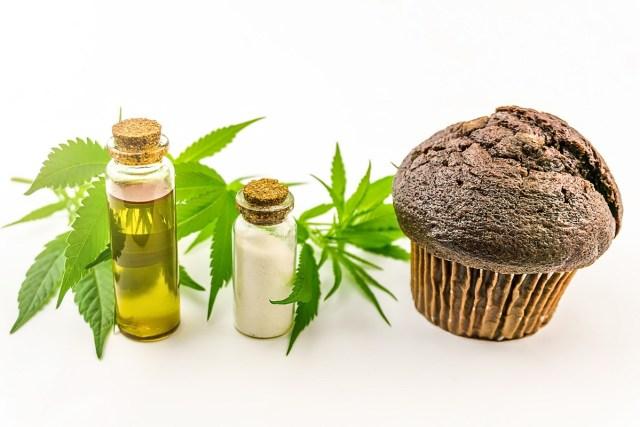 cannabis muffin