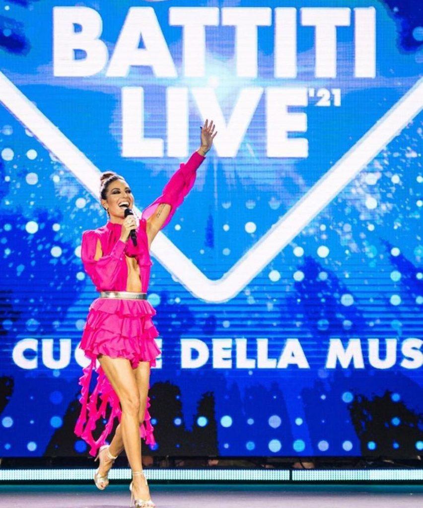 Elisabetta Gregoraci battiti live