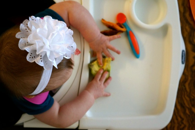 How I Started my 6 Month Old with Baby Led Weaning