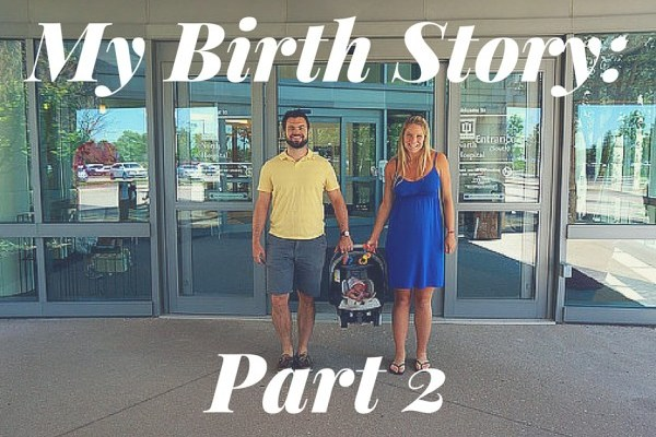 Lottie Rose's Birth Story: Part 2