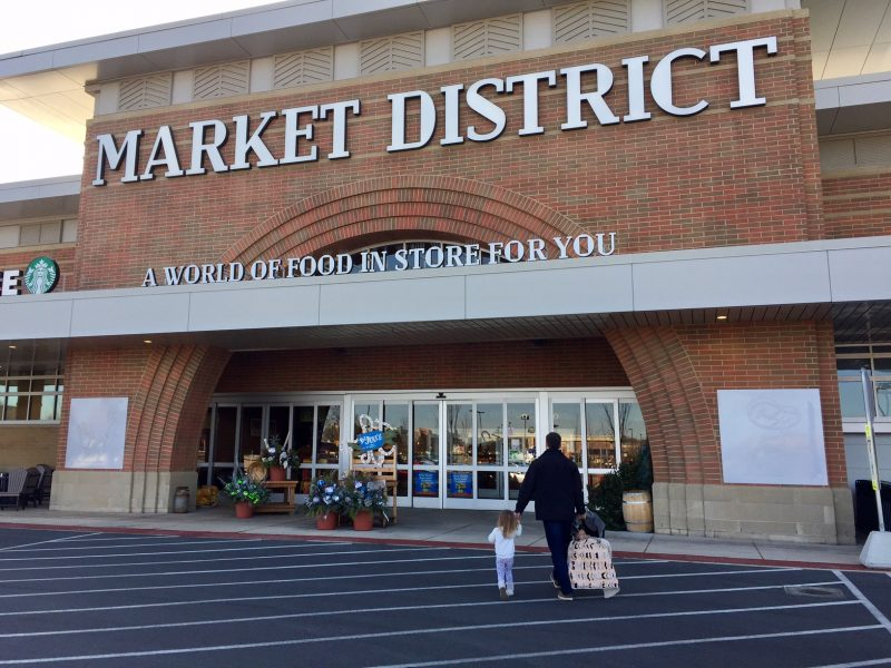 Shopping with Market District's fuelperks +