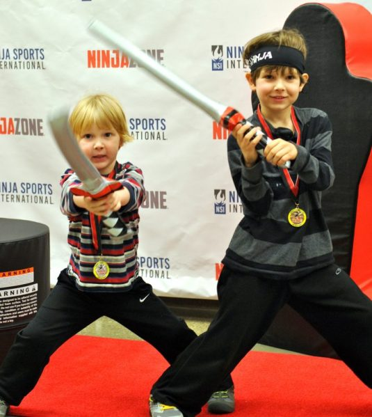 The day my boys became Ninjas at NinjaZone Academy