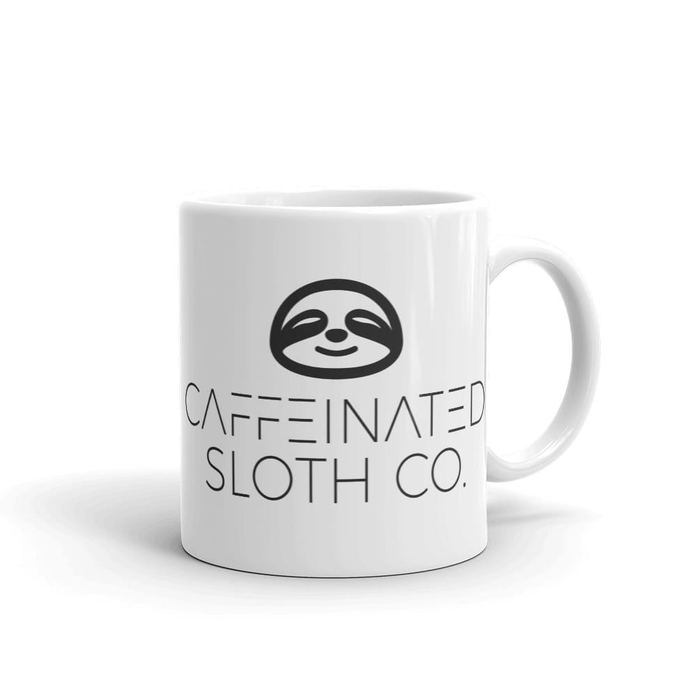 Caffeinated Sloth Mug 2
