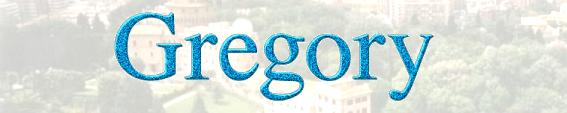 Image result for The Name Gregory