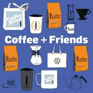 Coffee and Friends showing coffees and Ladro products for hosting and for host gifts