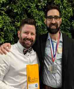 Ryan Rabaca and Scott Baldwin with Ladro GFA Coffee and GFA Award 2020