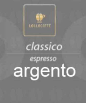 100 Capsule Lollo Caffè Argento Espresso Compatibili con Lavazza Espresso Point