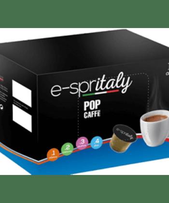 100 Capsule POP Caffè Decaffeinato Compatibili con Caffitaly System