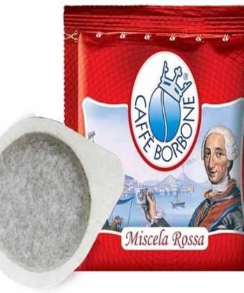 100 Cialde Borbone Miscela Rossa