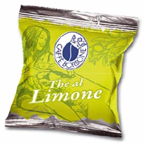 50 Capsule Borbone Tè al Limone Compatibili con Lavazza Espresso Point