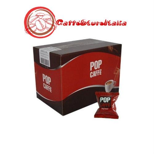 100 Capsule Pop Caffè Miscela Espresso (Rossa) Compatibile con Lavazza Espresso Point