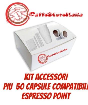 Capsule Compatibili con Espresso Point, A Modo Mio, Nespresso