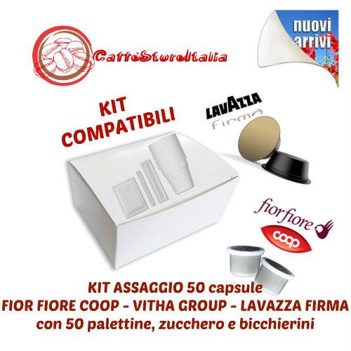 Capsule Compatibili Lavazza Firma, Fior Fiore Lui Coop e Vitha Group