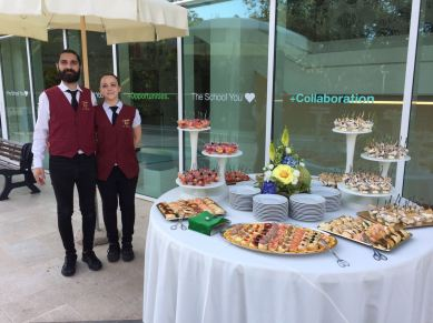buffet catering roma