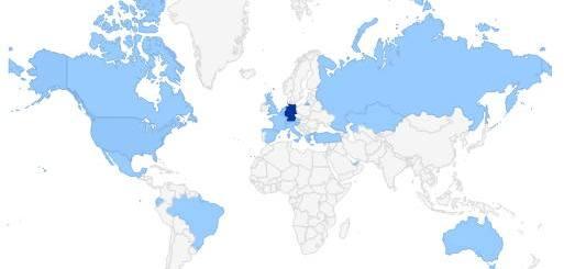 Schwerpunkt Deutschland: Die meisten Leser der CAFM-News leben zwischen Flensburg und Garmisch