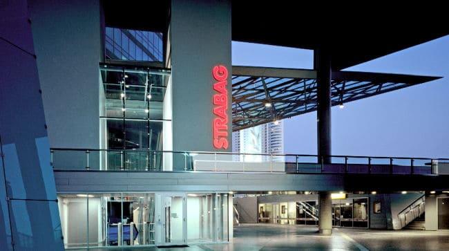 Der Strabag-Hauptsitz in Wien