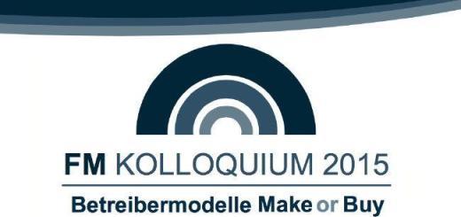 Beim FM Kolloquium 2015 geht es um das Thema Betreiberverantwortung