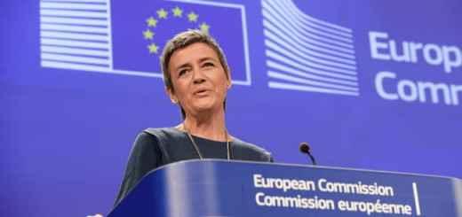 Margarethe Verstager, EU-Komissarin für Wettbewerbsrecht, begrüßt den kommenden Schub für Deutschlands Breitbandausbau