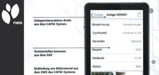 ambrosia fm consulting und services - cafm app mera