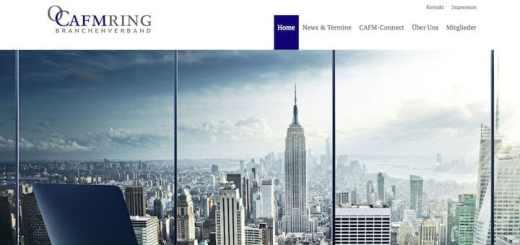 Der CAFM-Ring hat seine Website neu aufgesetzt