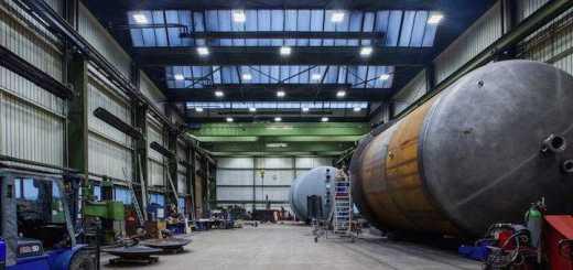 Die Messer Industriemontagen & Apparatebau spart mit gemieteten LED-Leuchten Energiekosten ein
