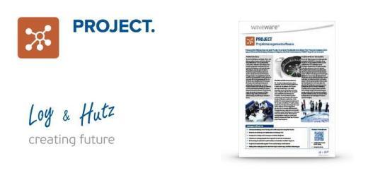 Mit Project stellt Loy & Hutz ein Projekt-Management Tool für wave Facilities vor