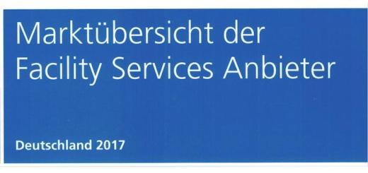 Die jüngste Marktübersicht der Facility Services Anbieter liefert eine Übersicht zu 33 Unternehmen im deutschen Markt
