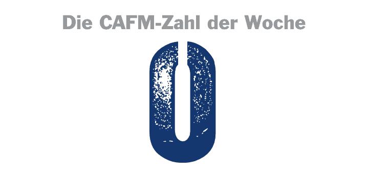 Null mit Lücke: Die heutige CAFM-Zahl der Woche ist eigentlich zwei Zahlen, denn die Lücke füllt eine 1