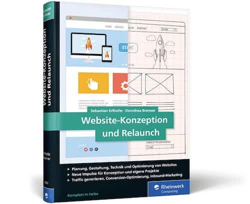 Hilft nicht nur für Webseiten: Das Buch Website-Konzeption udn Relaunch hält auch für Cloud-Dienste nützliche Tipps parat