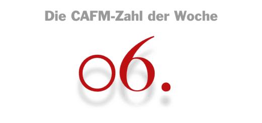 Die CAFM-Zahl der Woche ist die 06, denn am 06.06. ist der Geburtstag von Robert Piloty