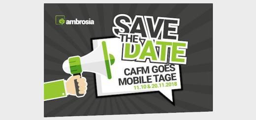 Ambrosia kündigt seine kommenden Anwendertreffen unter dem Titel CAFM goes Mobile Tage an