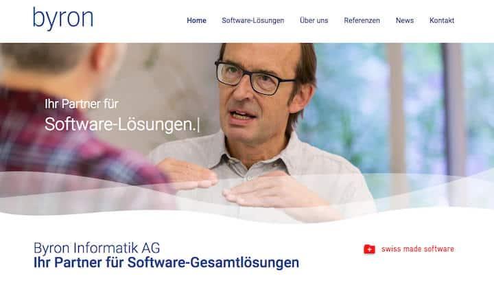 Der Schweizer CAFM-Anbieter Byron hat eine neue Website gelauncht