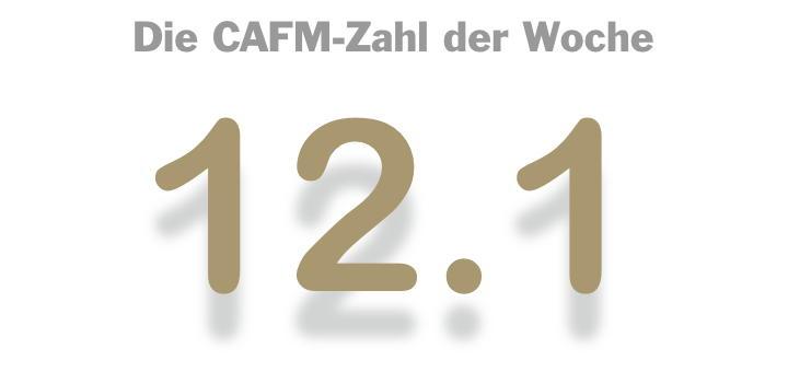 Die CAFM-Zahl der Woche ist dieses Mal die 12.1 – für das Unicode-Update 2019, das schon vor dem Update aus 12.0 feststeht