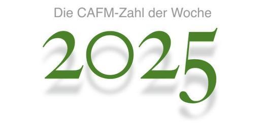 Die CAFM-Zahl der Woche ist die 2025 für die Frage, wo BIM im jenem Jahr stehen wird
