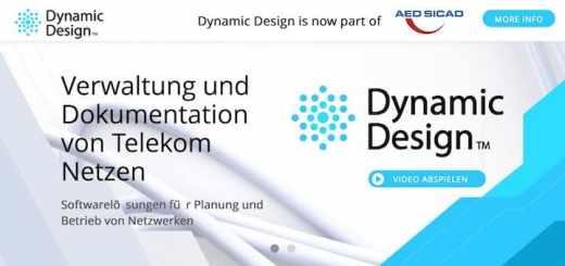 AED-Sicad hat mit Dynamic Design einen Spezialisten für Telekommunikations-Netze übernommen