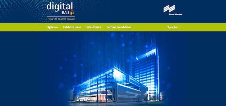 Die Messe München stellt der Fachmesse BAU die Messe digitalBAU an die Seite