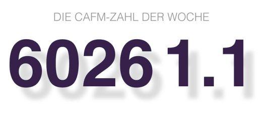 Die CAFM-Zahl der Woche ist die 6026 1.1 – für die VDI 6026, die unter anderem auch FM-relevante TGA-Dokumentationen beschreibt