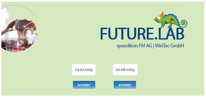 Im Juli und August gibt es bei Speedikon jeweils eine Besichtigung des Future.Labs