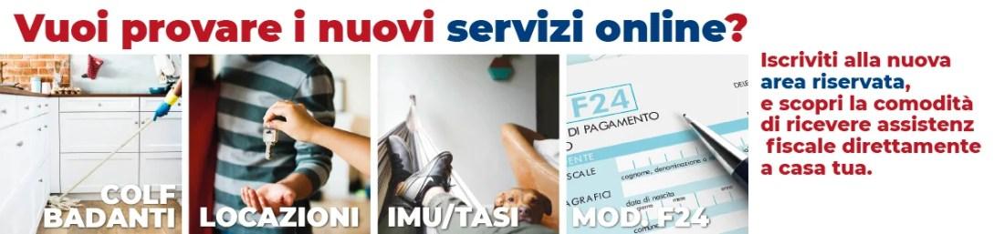 Nuovi servizi online nella area riservata caf uil