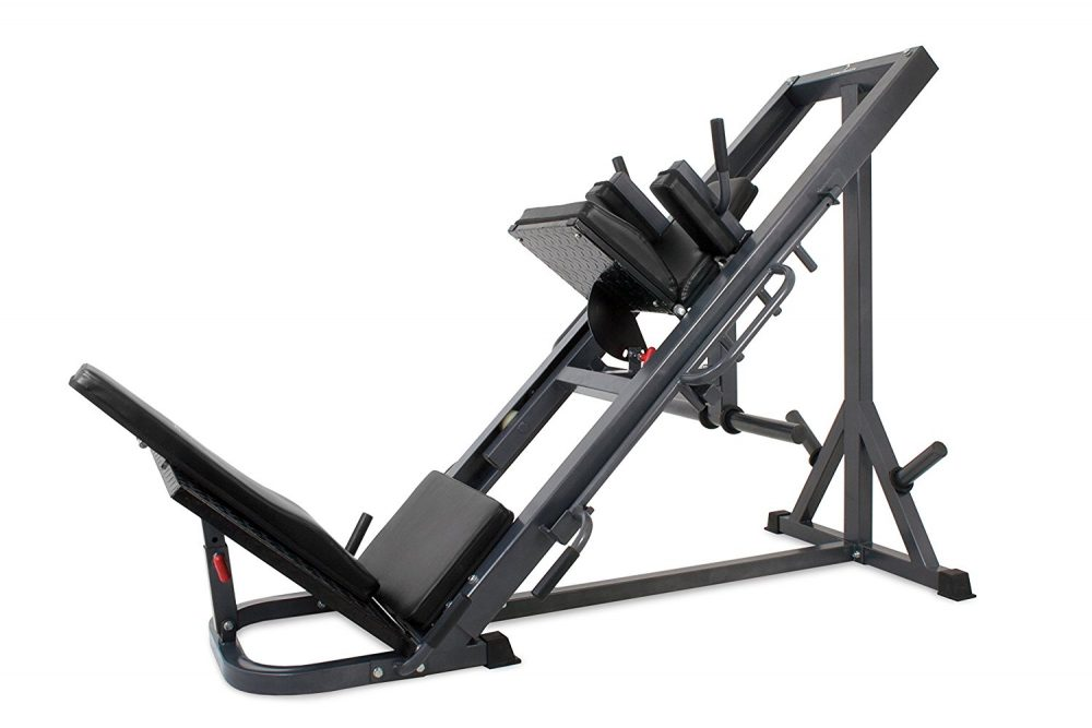 Bodysolid Presse à cuisses & Hack squat GLPH1100